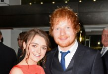 Ed Sheeran at premiere