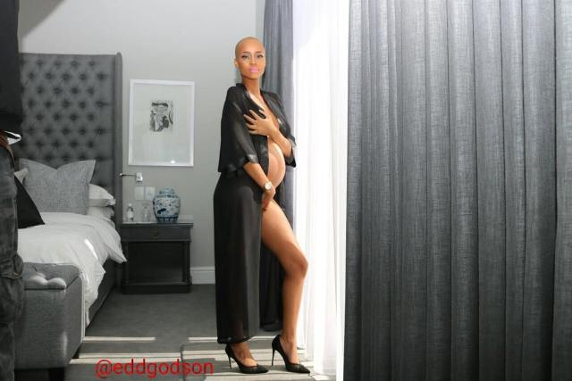 Ntando Duma Pregancy Photos
