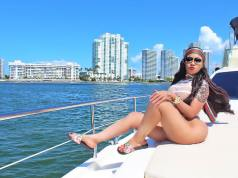 Vera Sidika in SEE-THRU Bikini ROCKS Yacht Party