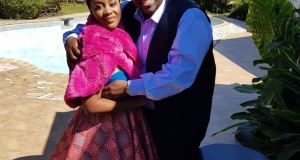 Wicknell and new wife