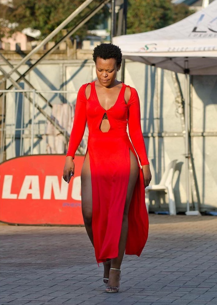 A glimpse of Zodwa Wabantus #VDJ2019 Outfit #