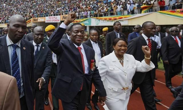VP Mnangagwa