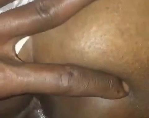 Torn panties