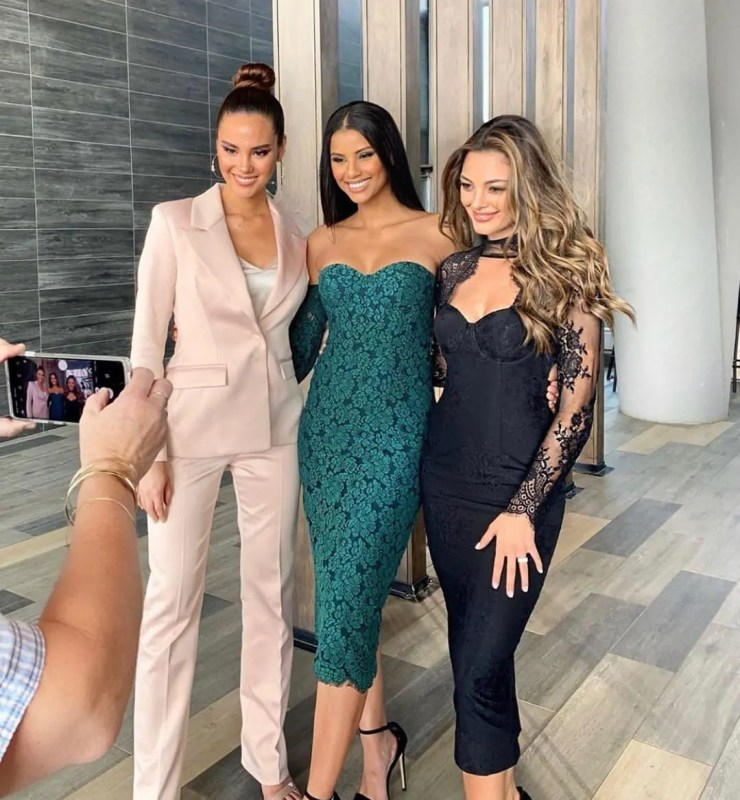 Catriona Gray and Tamaryn Green