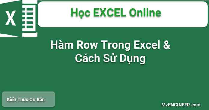 ham row trong excel cach su dung
