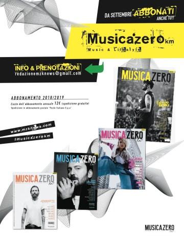 ABBONAMENTO Musica Zero km