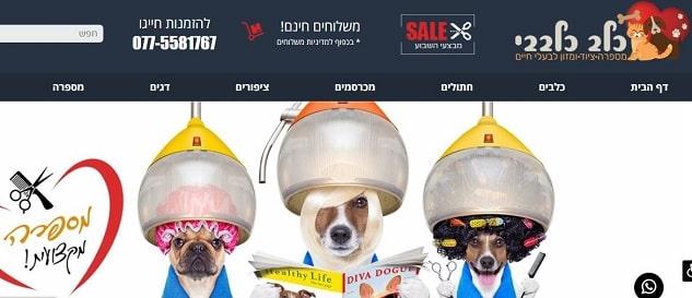 כלב כלבבי- חנות חיות בראשון לציון