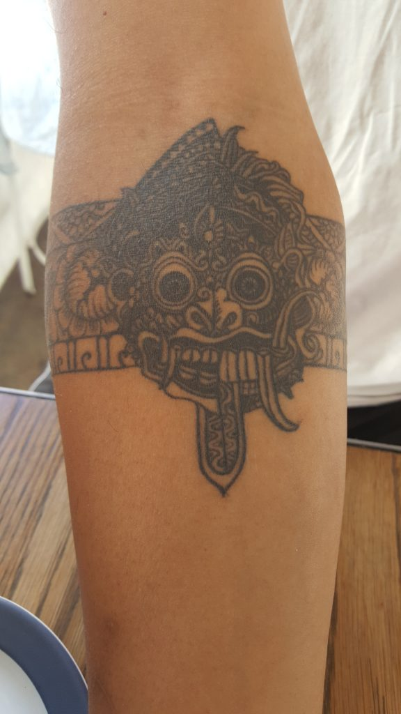 Chris Chiapoco Balinese Tattoo, Coogee Pavilion