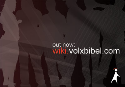 Volxbibel-Wiki out now!