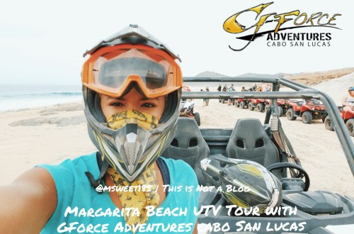 Magarita Beach UTV Tour with Gforce Adventures Cabo San Lucas