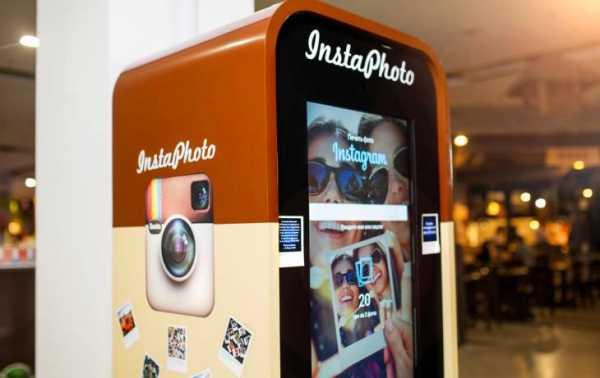 Автомат для распечатки фотографий из инстаграмма Boft