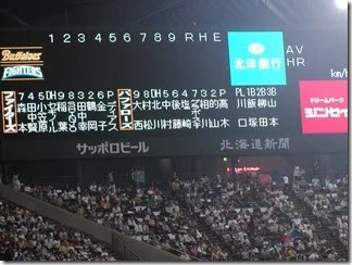 日本ハムXオリックス