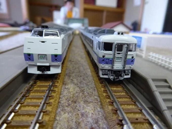 鉄道模型倶楽部・キハ183系
