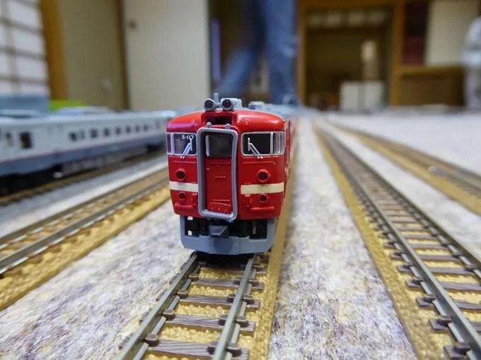 鉄道模型倶楽部・711系電車