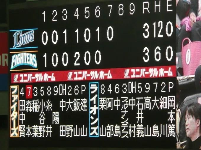 本拠地最終戦 糸井サヨナラ打!