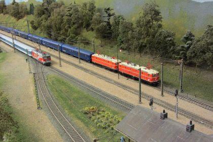 MEC Bregenz Arlbergbahn in Spur H0