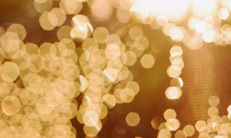 جزيئات الذهب النانونية