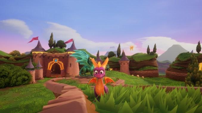 Spyro Reignited ist sehr schön anzusehen
