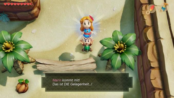 Link's Awakening hat eine Menge Humor zu bieten