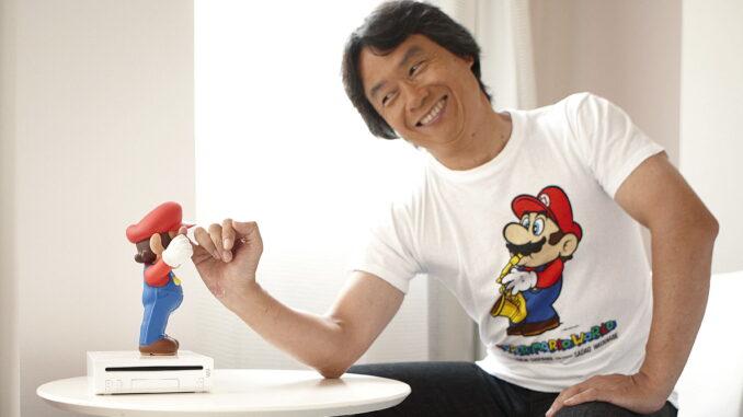 Das Bild zeigt Shigeru Miyamoto aus Nintendos Top-Management.