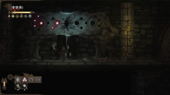 Dark Devotion Test Boss-Tafel