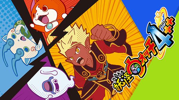 """Das Bild zeigt Artwork zum von Level-5 entwickelten """"Yo-kai Watch 4""""."""