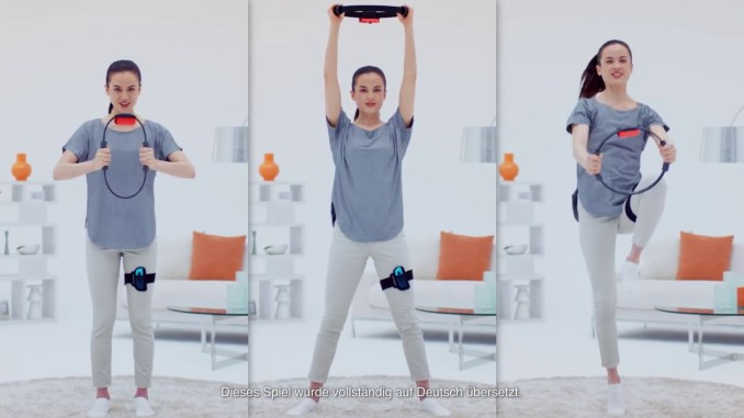 Workout mit Ring Fit Adventure