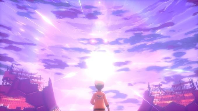 Das Foto zeigt ein gleißendes Licht und Wolkenhimmel.