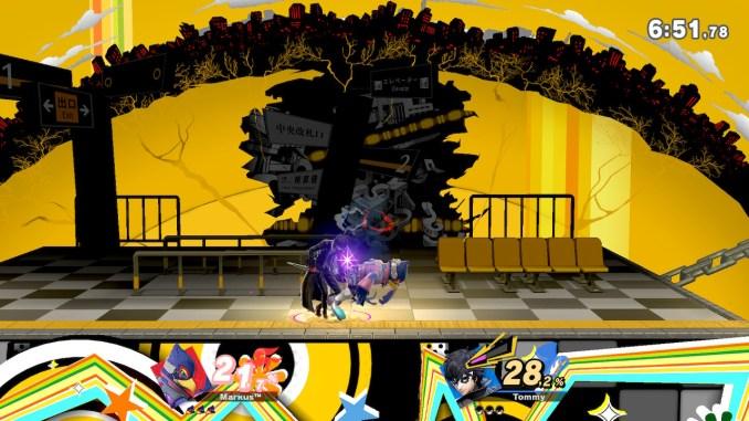 Das Foto zeigt Joker, wie er vermeintlich am Hintern von Falco riecht.