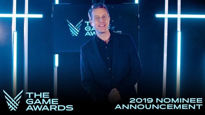 Das Foto zeigt Geoff Keighley, Moderator und Initiator der Game Awards.