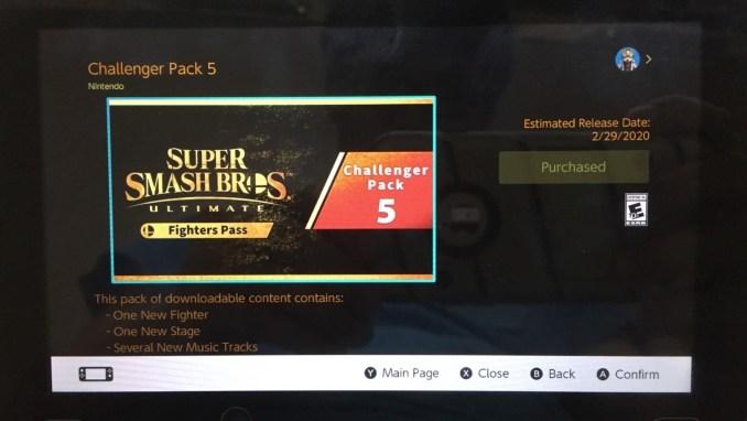 Das Update zu Super Smash Bros. Ultimate im Nintendo eShop