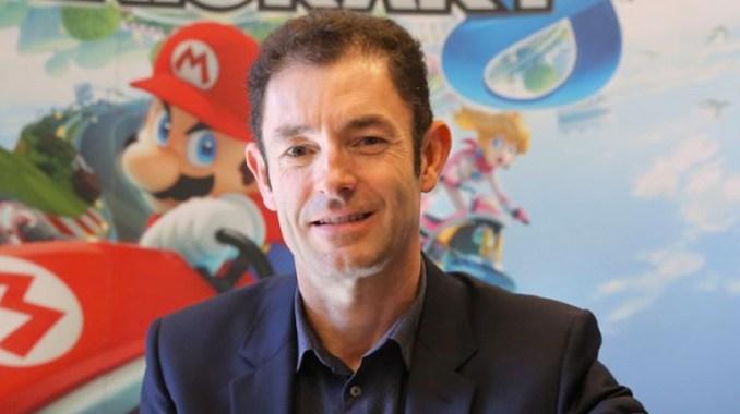 Das Foto zeigt Philippe Lavoure, Geschäftsführer von Nintendo Frankreich.