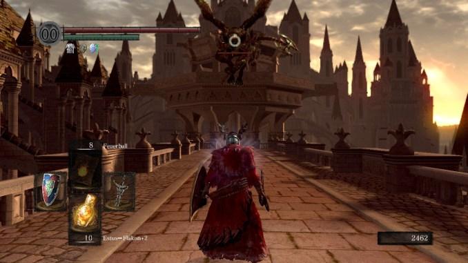 Dark Souls, Gargoyle kurz vor dem Angriff