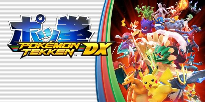 Das Foto zeigt ein Werbebild zu Pokémon Tekken DX für die Nintendo Switch.