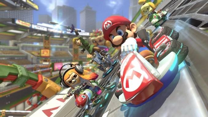 """Das Bild zeigt """"Mario Kart 8 Deluxe"""", den Anführer der Millionen-Seller-Liste."""