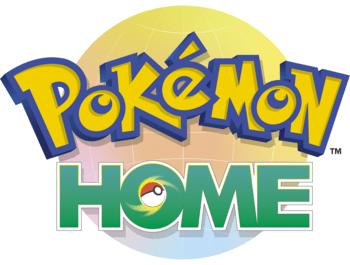 Das Foto zeigt das Logo zu Pokémon HOME, welches eventuell in der kommenden Pokémon Direct näher vorgestellt werden könnt.