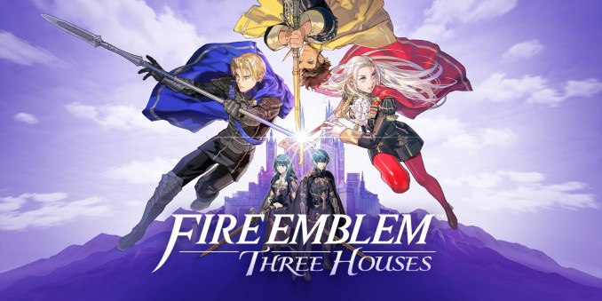 Das Foto zeigt das Cover zu Fire Emblem: Three Houses. Top-Entwickler aus Japan stimmten insgesamt für Platz 4.