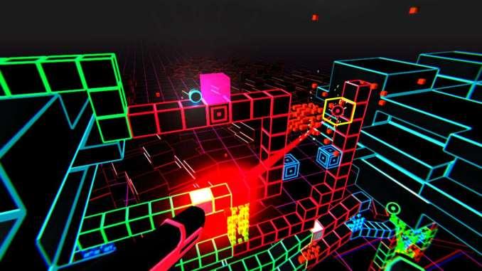 Neonwall Spielbildschirm