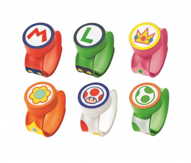 Die Power Up-Armbänder in Super Nintendo World sehen aus wie kleine Uhren.