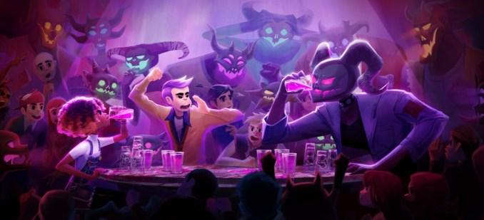 Das Bild zeigt eine Szene aus Afterparty