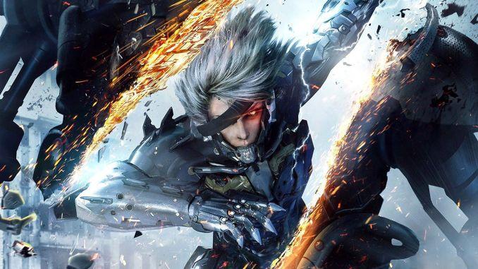 Das Bild zeigt ein Werbebild zu dem Game Metal Gear Rising: Revengeance.