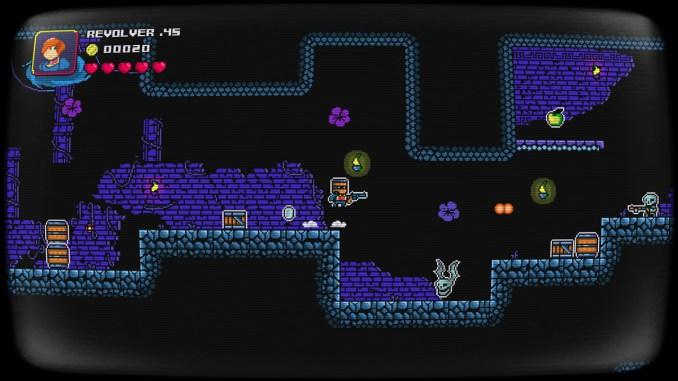 Das Bild zeigt das Gameplay von Bucket Knight