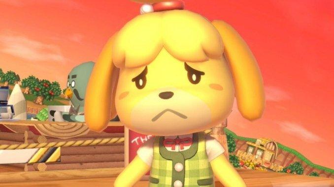 Das Bild zeigt einen Ausschnitt aus Animal Crossing