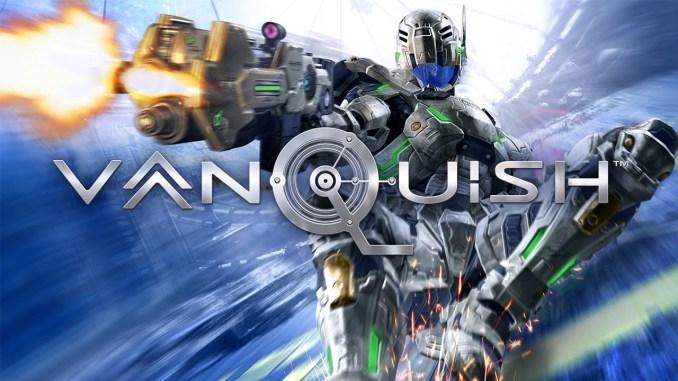 Das Bild zeigt ein Werbebild zu dem game Vanquish.