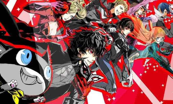 Das Bild zeigt ein Artwork zu Persona 5 Royal
