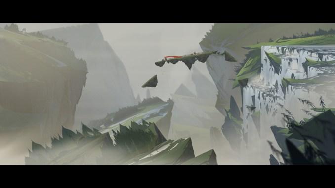 Auf dem Bild ist eine Zwischensequenz des Spiels zu sehen. Diese sind geschickt in Spielgrafik implementiert