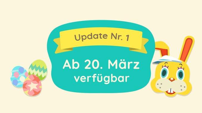 Das Bild zeigt das Update für den 20.03.2020.