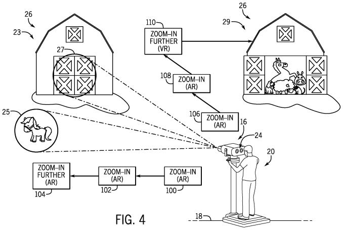 Das Bild zeigt eine schematische Darstellung über die Funktion der Mario-Ferngläser.