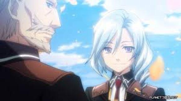 Das Bild zeigt Vishnal, einen von sechs männlichen Heiratskandidaten in Rune Factory 4 Special. Er hat blaue Haare und trägt sie als seitlichen Zopf. Ein paar Strähnen fallen ihm ins Gesicht.