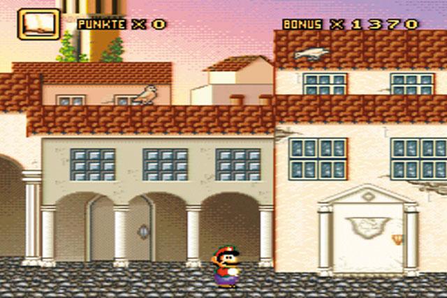 """Auf dem Bild ist eine Scene des Spiels """"Mario Time Machine"""" zu sehen."""